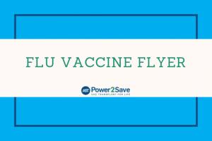 Flu Vaccine Flyer