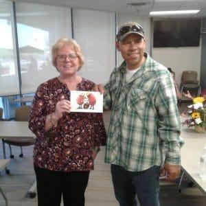 Patricia, kidney transplant recipient